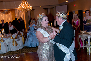 King and Queen waltzing